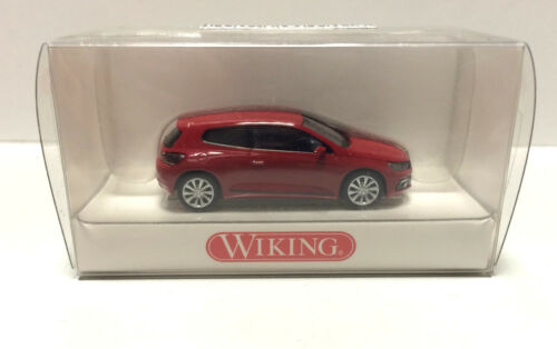 Farbe: salsa red,1:87 NEU in OVP Wiking 0073 01 32 VW Scirocco H0