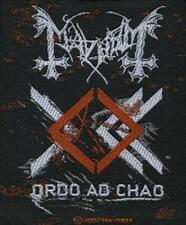 "Mayhem "" Ordo ad chao "" Patch/Aufnäher 601357 #"