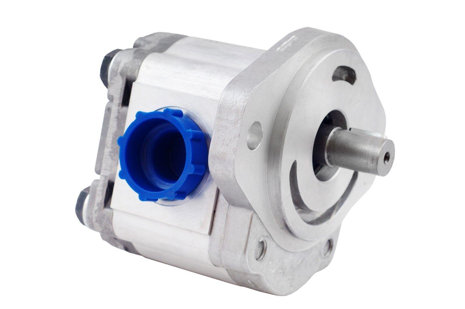 """Hydraulic Gear Pump,12cc//rev 9.4 gpm@3000rpm,3625psi,5//8/"""" Key Shaft,SAE A CCW"""