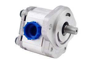 """Hydraulic Gear Pump 1-4 GPM 5/8"""" Keyed Shaft SAE A-2 Bolts CW Aluminium NEW"""