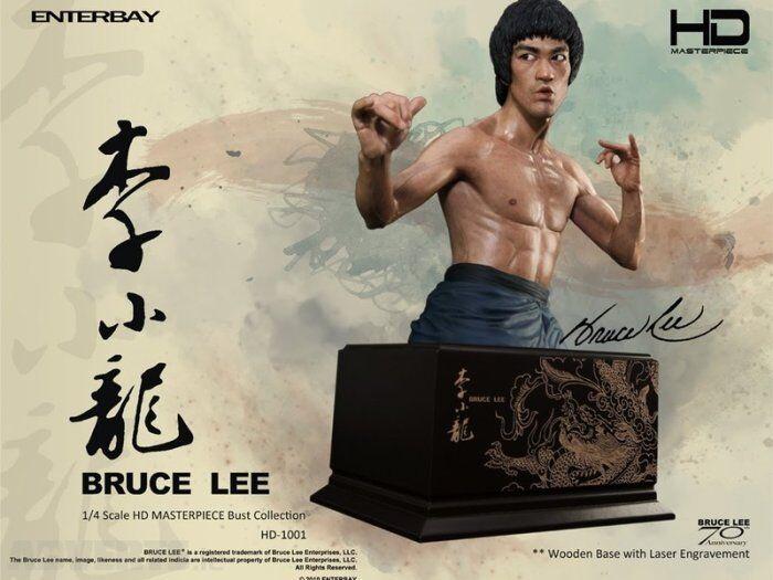 Enterpay 1  6 HD -1001 –Bruce Lee 70 -årsjubileum byst