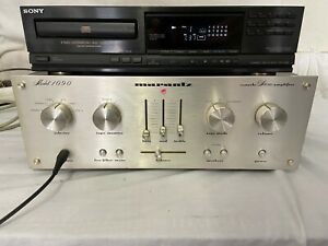 Marantz-1090-console-Stereo-Amplifier-ohne-abg-CD-Player