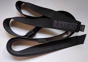 mieux choisir chaussures authentiques coupon de réduction Détails sur Sangle tactique BLACKHAWK noire bretelle ceinture
