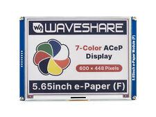 565 7 Color Acep E Paper E Ink Display Module 600448 Spi For Rpi Jetson Nano