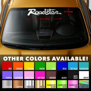 ROADSTER-MIATA-MX-5-MAZDA-Windshield-Banner-Premium-Vinyl-Decal-Sticker-23-034-x5-034