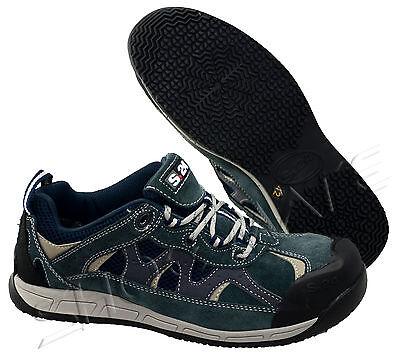 Mens S3 Ultra Lightweight Non Metal Composite Toe Cap Safety Work Shoes Trainers Um Der Bequemlichkeit Des Volkes Zu Entsprechen