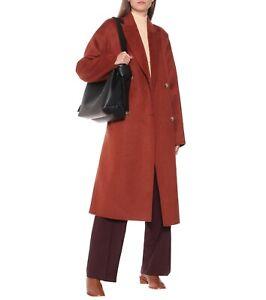 Acne Studios Belted Coat 34 Oversized Wool Alpaca FN-WN-OUTW000386 Owanne