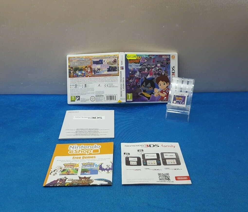 JUEGO NINTENDO 2DS 3DS ESP - YO-KAI WATCH 2 MENTESPECTROS PSYCHIC SPECTERS