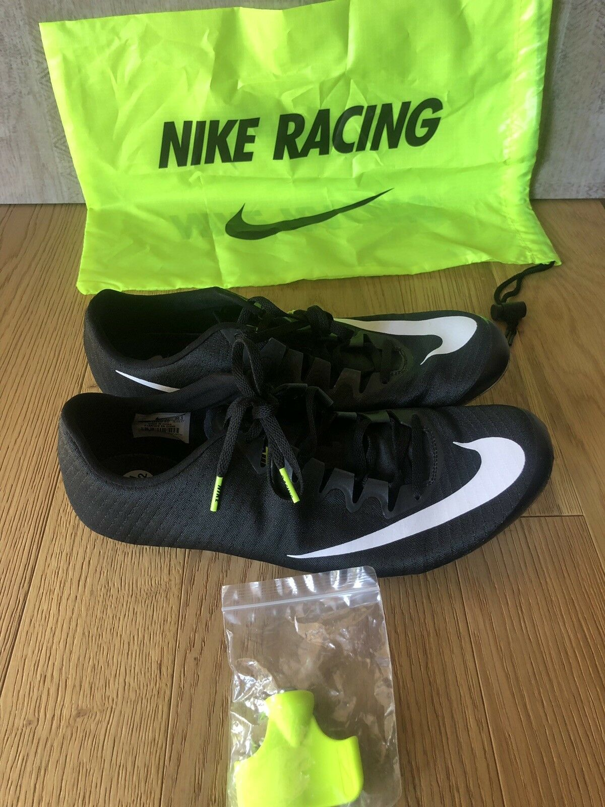 Nike Zoom Superfly Elite Track Spikes Black White 835996-017