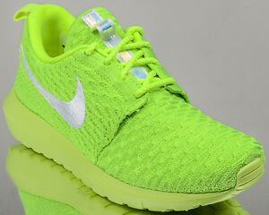 free shipping a3372 f4f44 Image is loading Nike-WMNS-Roshe-NM-Flyknit-women-lifestyle-sneakers-