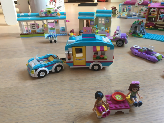 Lego Friends, Lego friends, Kæmpe lego friends samling,