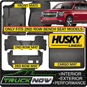 Marvelous Details About Husky Liner Weatherbeater 2015 19 Suburban Yukon Xl Floor Mats Cargo Mat Black Dailytribune Chair Design For Home Dailytribuneorg