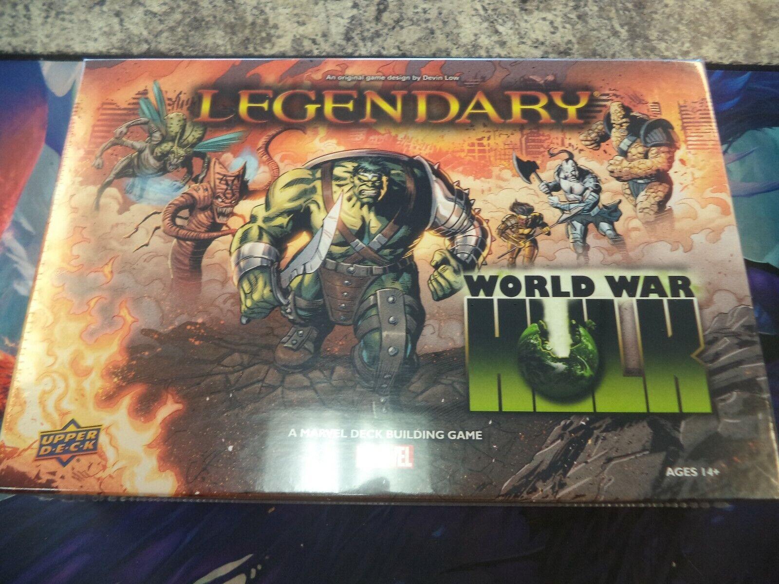 connotación de lujo discreta Legendarios de Marvel Marvel Marvel Dbg World War Hulk Cubierta súperior De Expansión Juego De Mesa DECKBUILDING  barato y de alta calidad