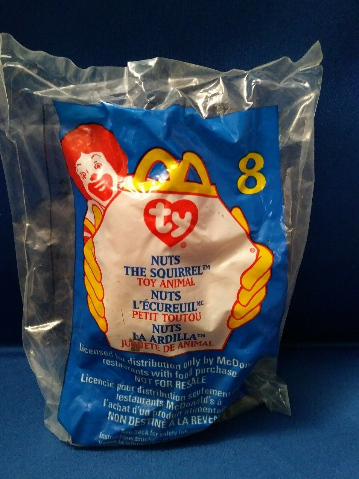 COMBO  NUTS  Squirrel DOB 01.21.1996 01.21.1996 01.21.1996 TY Beanie Baby & Teenie Beanie 2e7e83