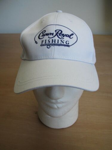 Rare White NOS Perfect for Summer Crown Royal Whiskey Fishing Adjustable Hat