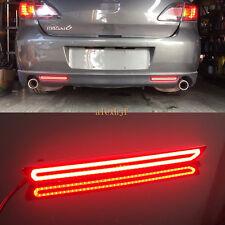 LED Light Guide Brake Light Night DRL Turn Signal for Mazda 2 3 6 8 Atenza Axela