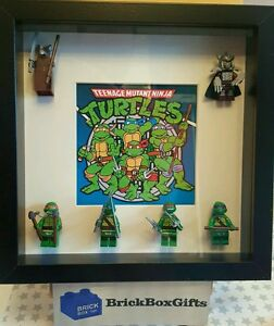 Teenage Mutant Ninja Turtles 3d Frame Leonardo Raphael Michaelangelo