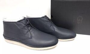 b9b84e9815e Details about UGG Australia Men's Cali Chukka Sneaker Navy Blue 1092175  Leather Sneakers