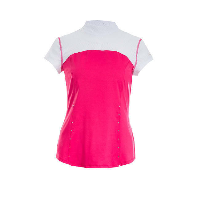 B greenigo Patricia Show Shirt in Hot Pink