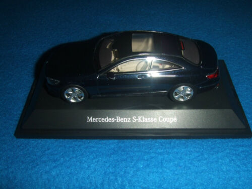 MERCEDES Benz C 217 Classe S Coupe 2014 BLU 1:43 NUOVO OVP