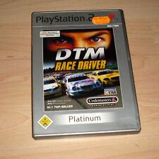 Playstation 2 Spiel - DTM Race Driver - Platinum PS2 Game Rennspiel (Racedriver)