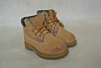 Kids' Clothing, Shoes & Accs Timberland 12809 M Boy Toddler Wheat/tan Suede Premium Water Proof Boot Sz 7 Us Delicacies Loved By All