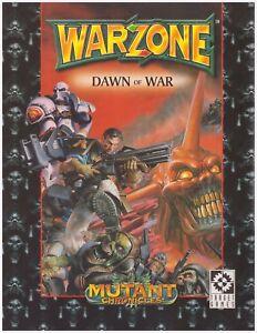 WARZONE-DAWN-of-WAR-war-game-miniature-combat-sourcebook-MUTANT-CHRONICLES