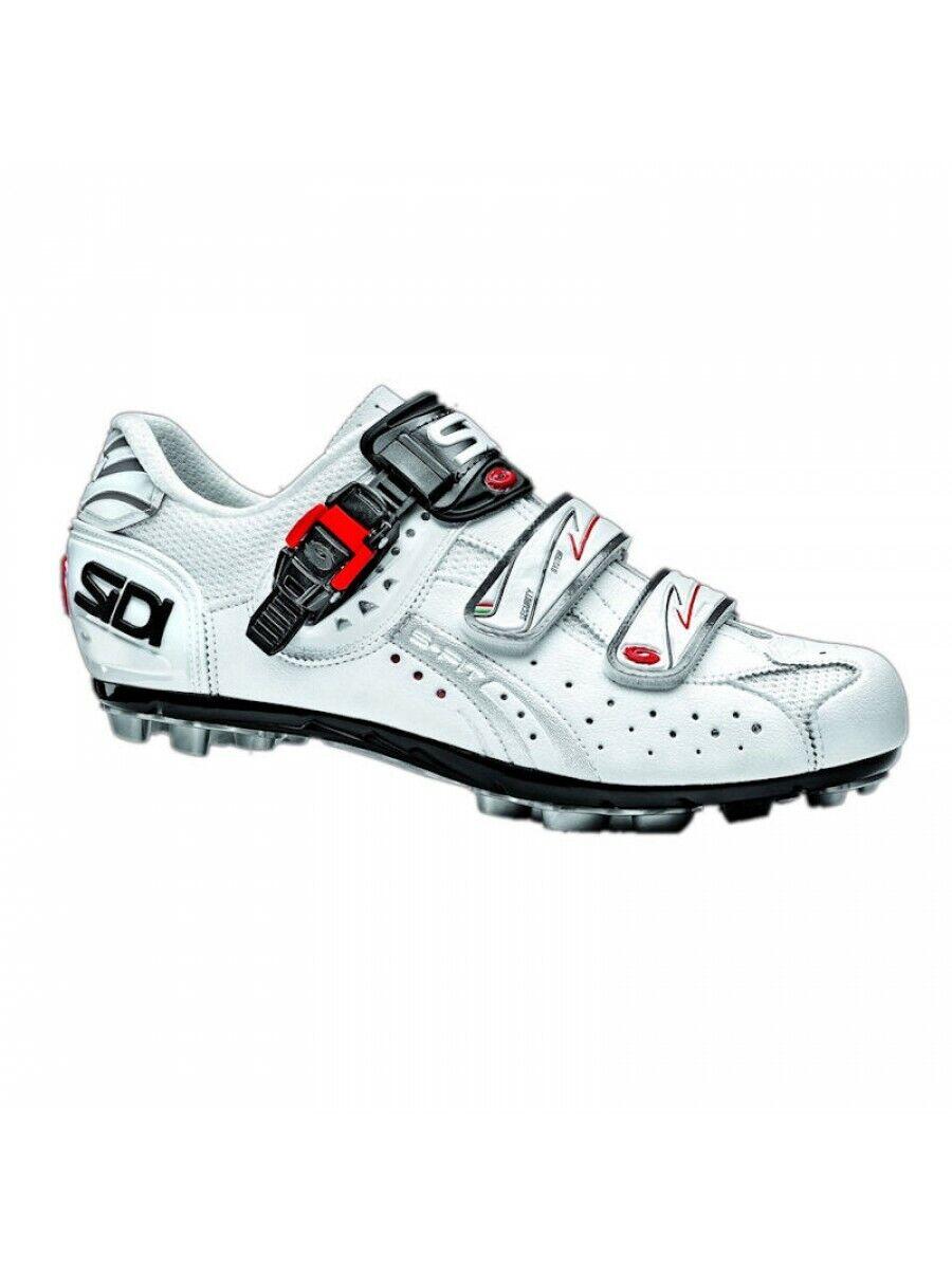 zapatos ciclismo MTB - Sidi Eagle 5 Fit - misura 42,5 - Bianco