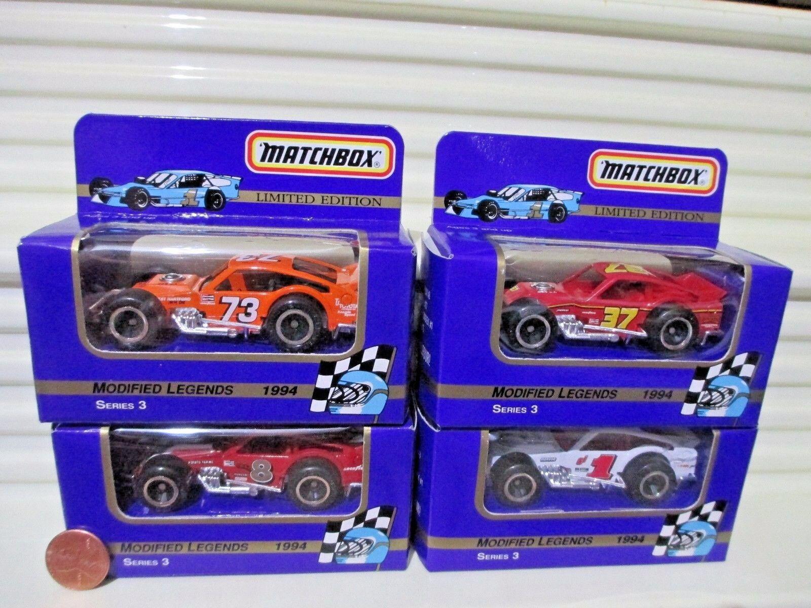 barato y de alta calidad Matchbox 1994 serie 3 leyendas Modificado coches McLaughlin McLaughlin McLaughlin Stefanik Jarzombek Bross  alta calidad
