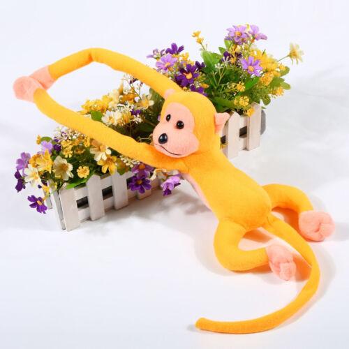 Baby Kids Soft Long Arm Monkey Stuffed Animal Doll Gift Plush Toys Cute Colorful