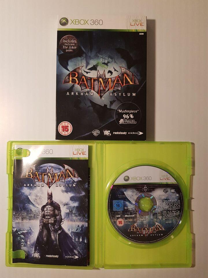 Batman - Arkham Asylum, Xbox 360