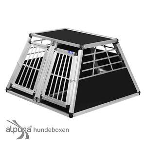 N56-Hundetransportb-ox-Doppelbox-Aluminium-Transportbox-Hundebox-Hunde-Alubox