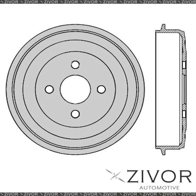 PROTEX Brake Drum For BMW 2002 E10 M10B20 4 Cyl CARB 1968-1976 By ZIVOR