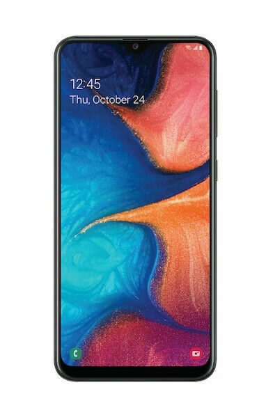 Samsung Galaxy A20 Sm A205u 32gb Black Verizon Single Sim For Sale Online Ebay