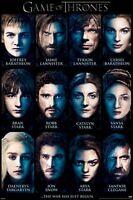 GAME OF THRONES POSTER ~ 12 FACES 24x36 TV Season 3 Tyrion Daenerys Stark Cersei