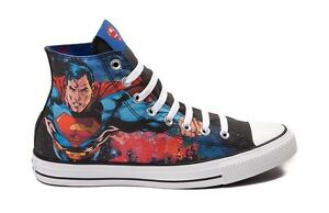 f1079774b715 Converse Chuck Taylor All Star Superman DC Comics Sneakers 150444C ...