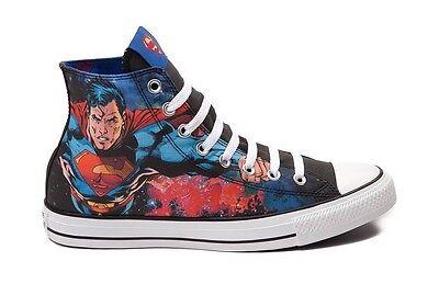 Converse Chuck Taylor All Star Superman DC Comics Sneakers 150444C Size 4.5 10 | eBay