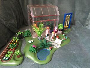Playmobil 4281 Modern House Veranda Et Jardin Potager Pour Maison 4279 | eBay
