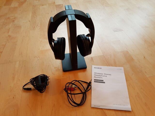 Sony MDR-RF865RK Kopfbügel Kabellos Kopfhörer - Schwarz