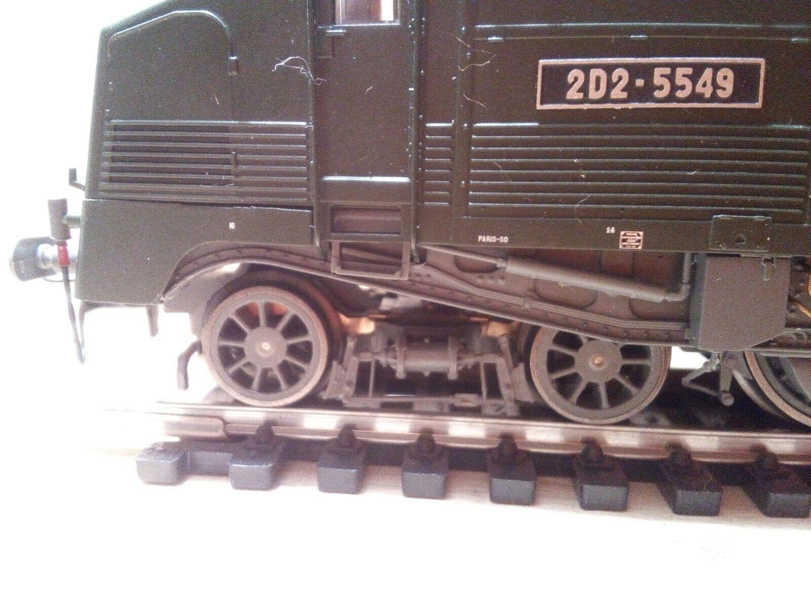 HJ2164 electric locomotive locomotive locomotive 2D2 SNCF Jouef 1 87 HO DCC Rdy d3f6ab