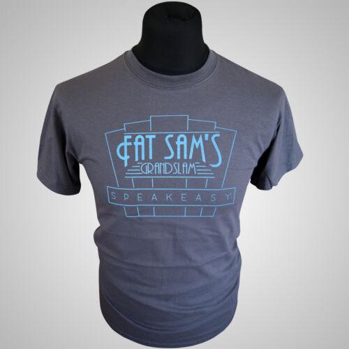 Fat Sams Grandslam Bugsy Malone Retro Movie T Shirt Vintage Cool