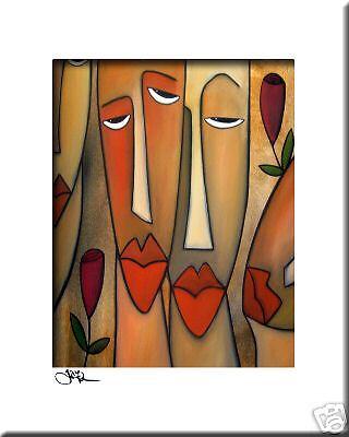 LOVE SURROUNDS CONTEMPORARY POP ART Abstract MODERN print FIDOSTUDIO