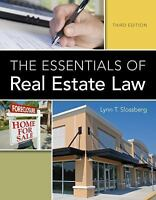 NEW - The Essentials of Real Estate Law by Slossberg, Lynn T.