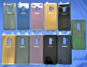 For-Samsung-Galaxy-S9-amp-S9-Back-Glass-Housing-Cover-Battery-Door-Replacement