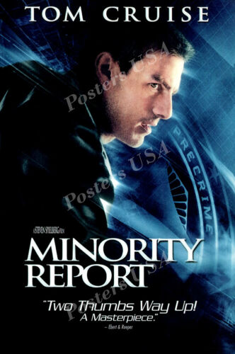 FIL179 Posters USA Minority Report Tom Cruise Movie Poster Glossy Finish