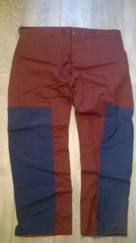 HEAVY DUTY HARDWEARING NEW trousers mens burgundy /& navy blue work