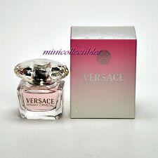 VERSACE BRIGHT CRYSTAL Eau de Toilette 5 ml Mini Perfume Miniature New in Box