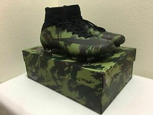 official site 100% authentic great fit Details about Nike Mercurial Superfly Camo Pack Mens Size 9 Special Edition  Soccer Cleats