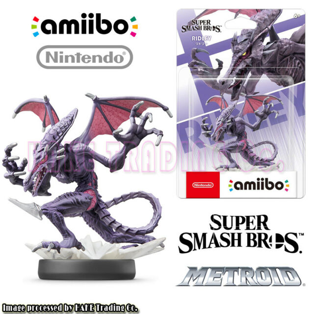 amiibo Super Smash Bros METROID Ridley Figure for Nintendo Switch Original JP Vr
