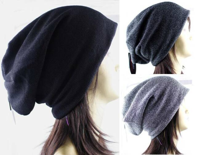 1 Pack Women Winter Beanie Beret Hat Baggy Slouchy Oversized Premium Cap H4713